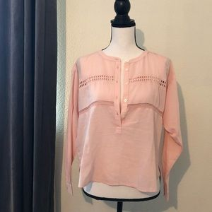 LOFT The Softened Shirt Small NWT